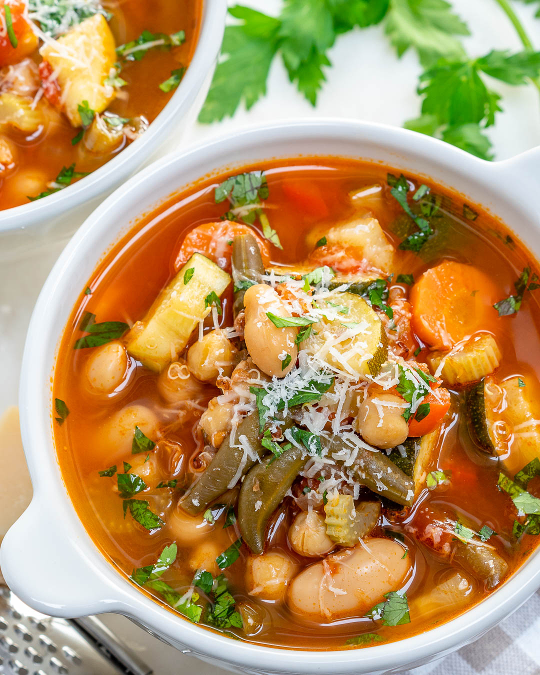 Harvest Minestrone Soup For Clean Eating Clean Food Crush