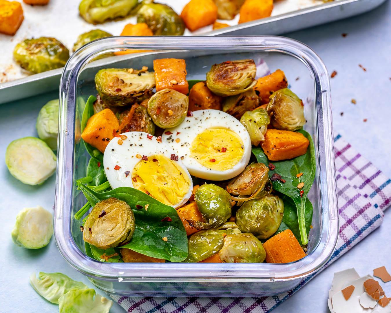 Egg + Roasted Veggie Breakfast Boxes