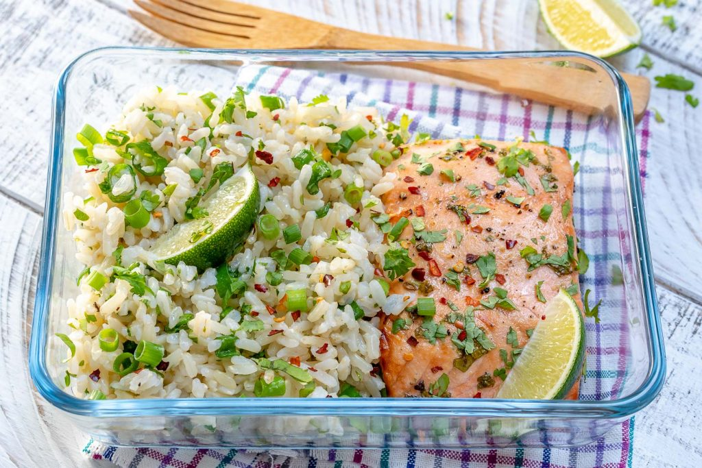 One-Sheet Pan Cilantro-Lime Salmon