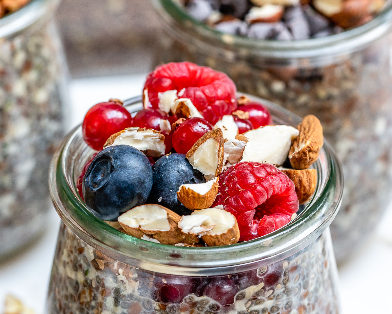 Berry Vanilla Overnight No-Oats