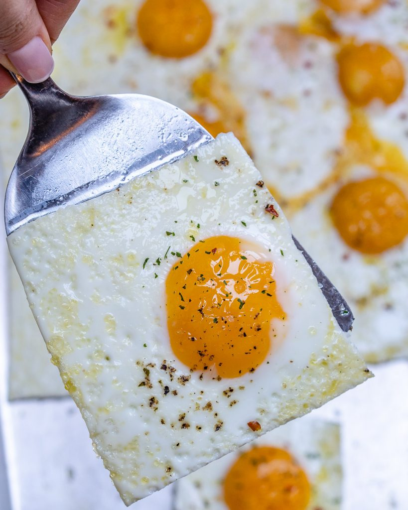 Quick + Easy Sheet Pan Eggs