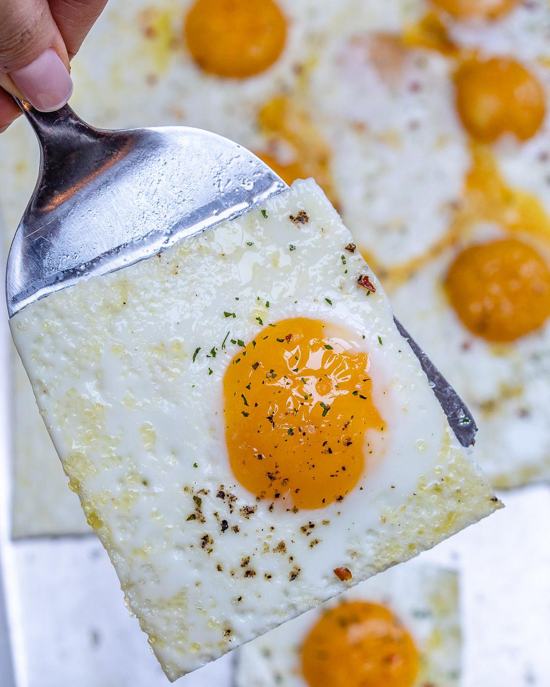 Quick + Easy Sheet Pan Eggs