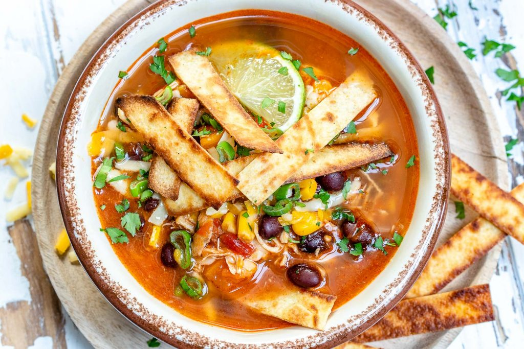 Make this Chicken Tortilla Soup in Your Instant Pot, Crockpot or Stockpot!