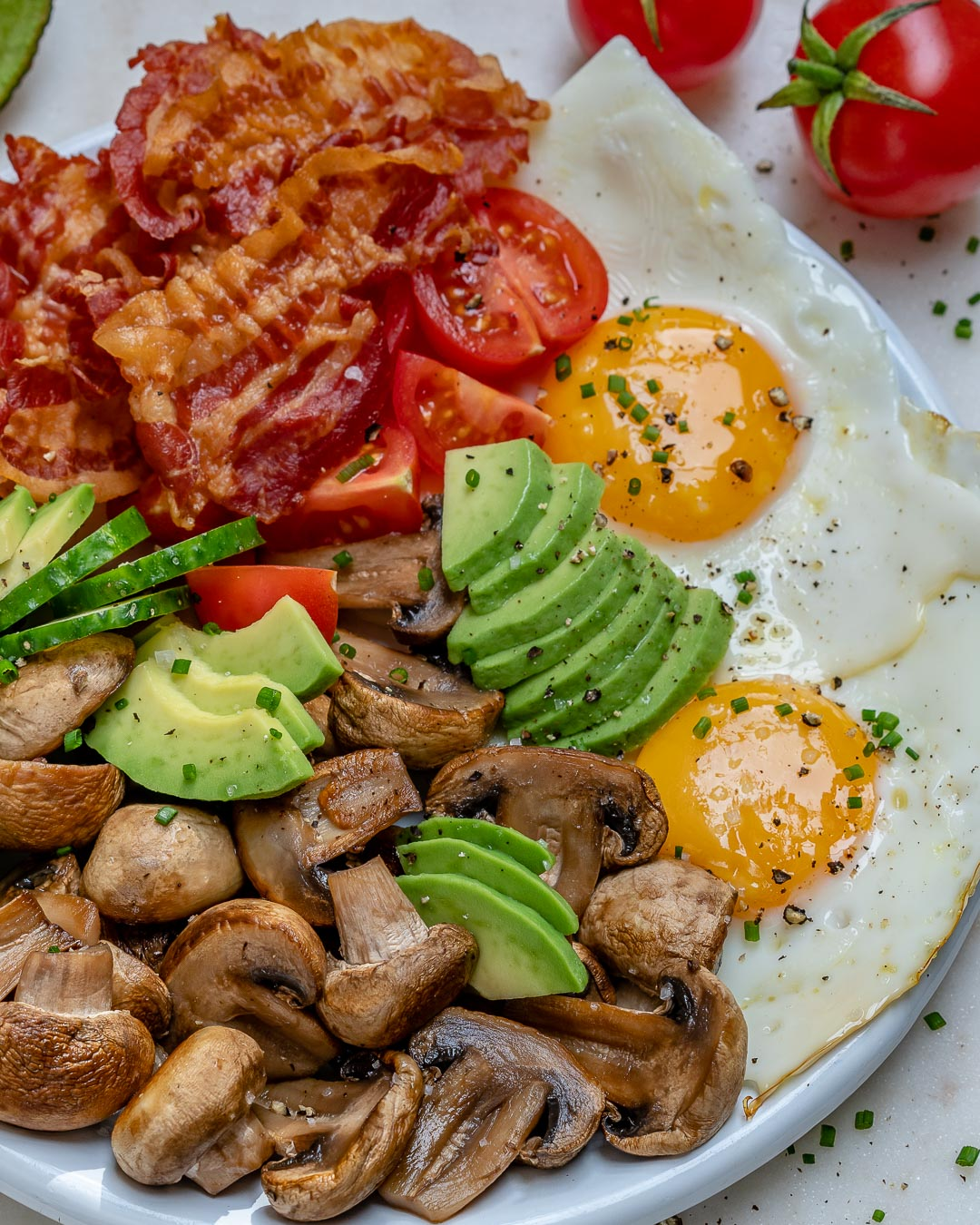 10 Minute Bacon Eggs Breakfast For Clean Eating Mornings Clean