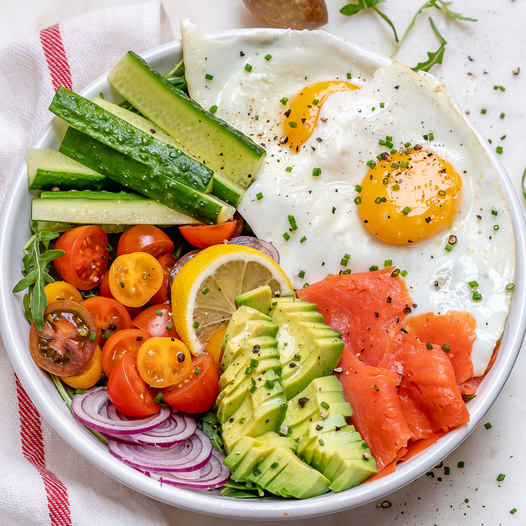 Smoked Salmon Breakfast Bowls for Clean Eating! | Clean ...