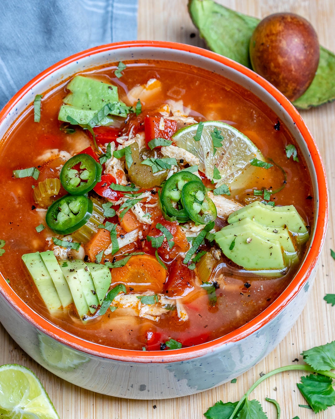 Crockpot Chicken Lime Soup For Clean Eating Is Delicious Clean