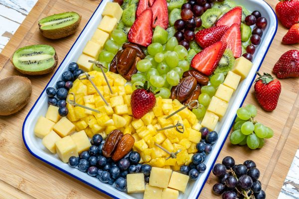 Get Creative With This Fruit Cheese Easter Fun Platter Clean Food Crush