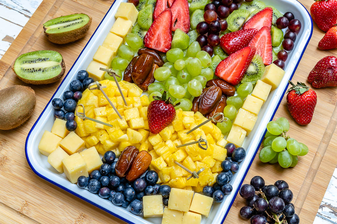 Fruit + Cheese Easter FUN Platter