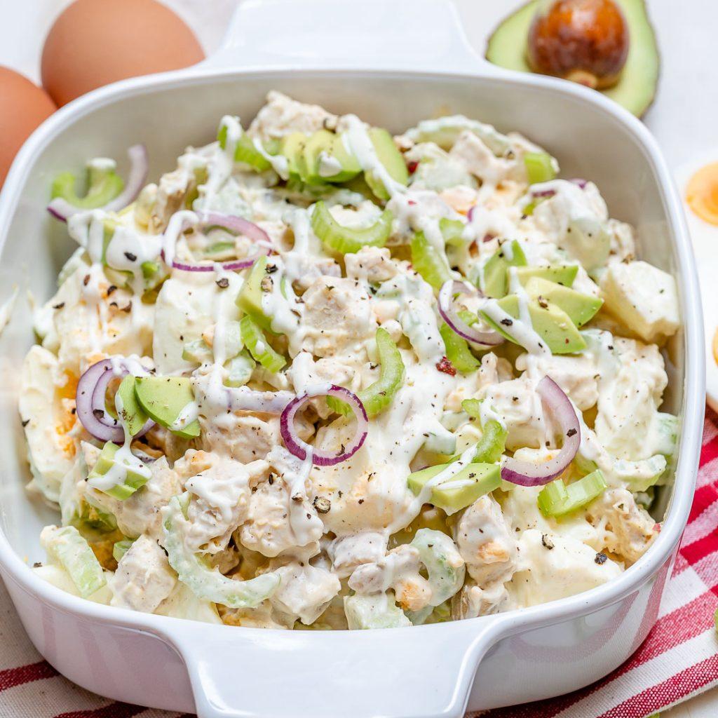 Chicken Avocado Egg Salad