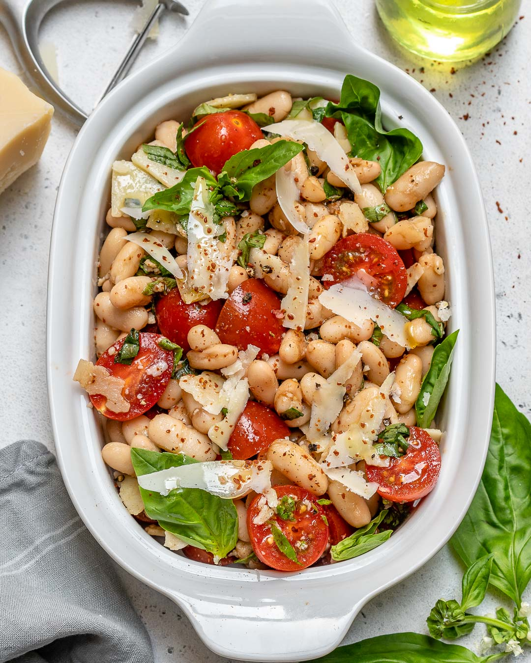 Cherry Tomato White Bean Salad