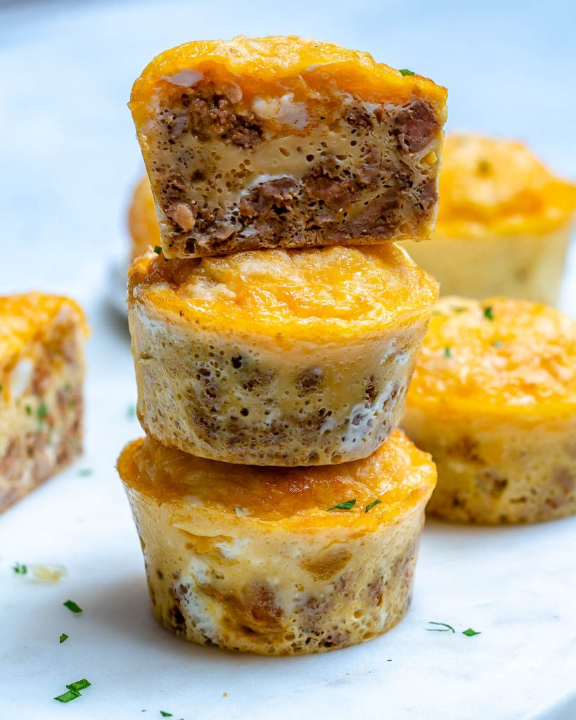 Chipotle Sausage Egg Muffins