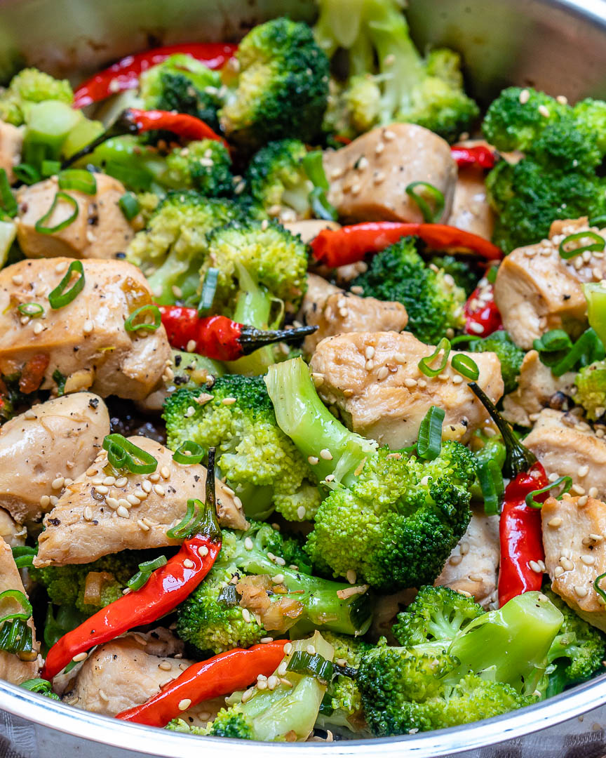 Spicy Chicken  Broccoli Stir-Fry For Quick Clean Eating  Clean Food Crush-2134