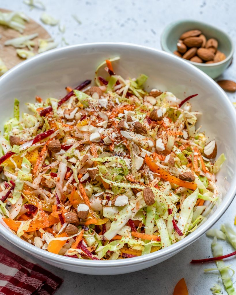 Crunchy Lemon Ginger Salad