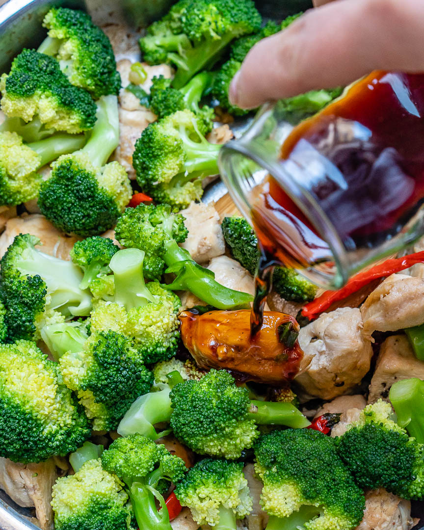 Spicy Chicken  Broccoli Stir-Fry For Quick Clean Eating  Clean Food Crush-3761