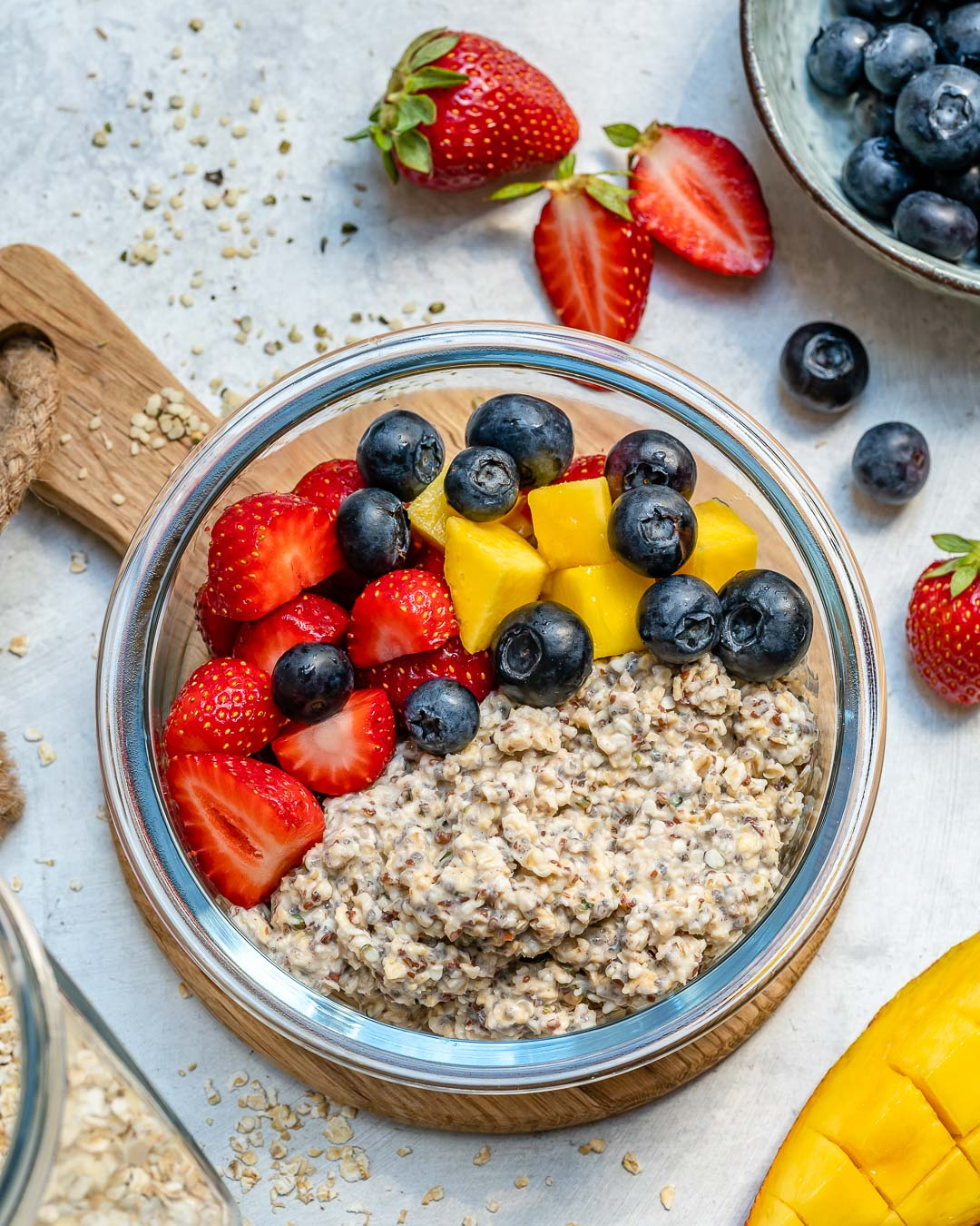 Overnight Oat Meal Prep Bowls