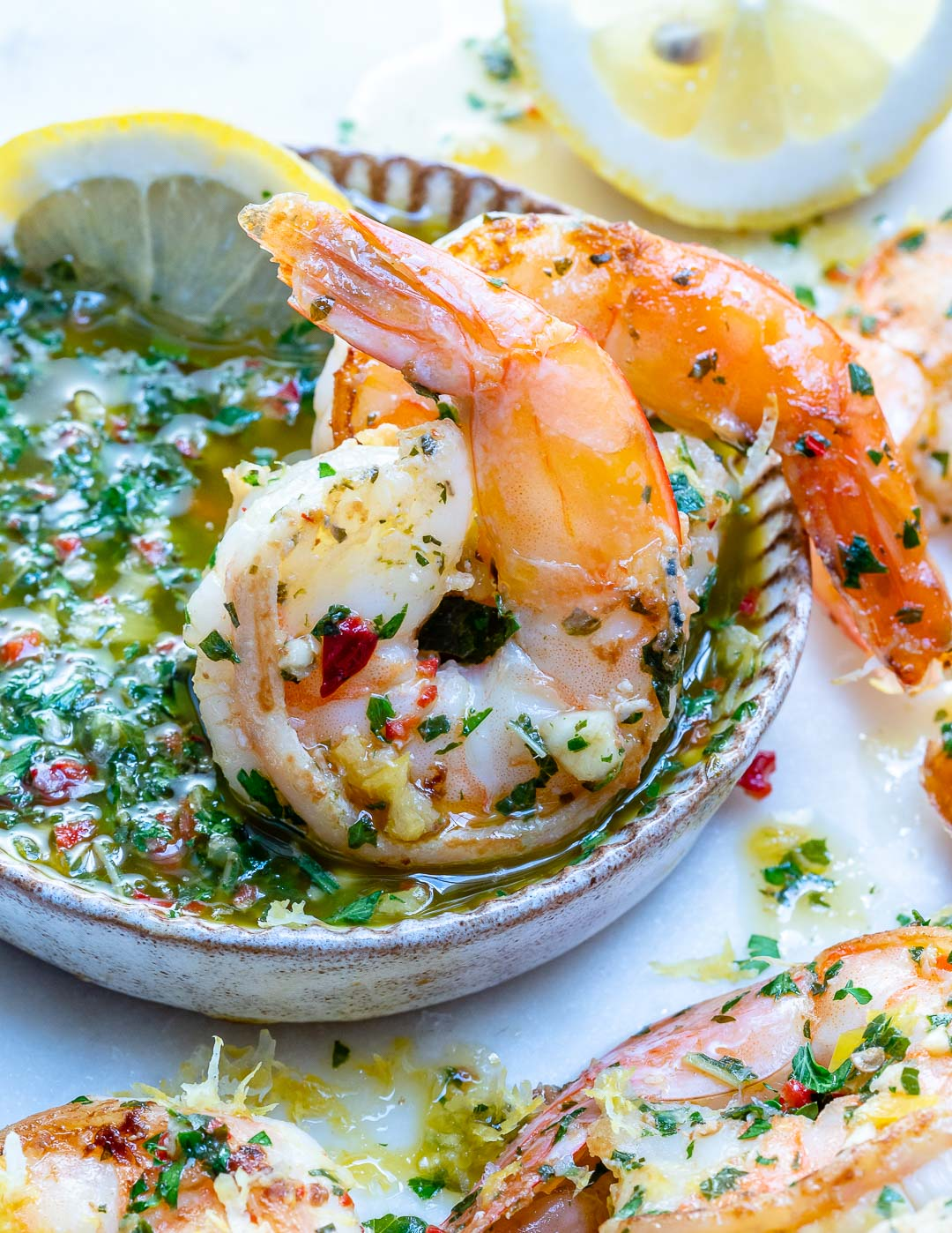 This Super Tasty Chimichurri Shrimp is Ready in Just 15 Minutes!