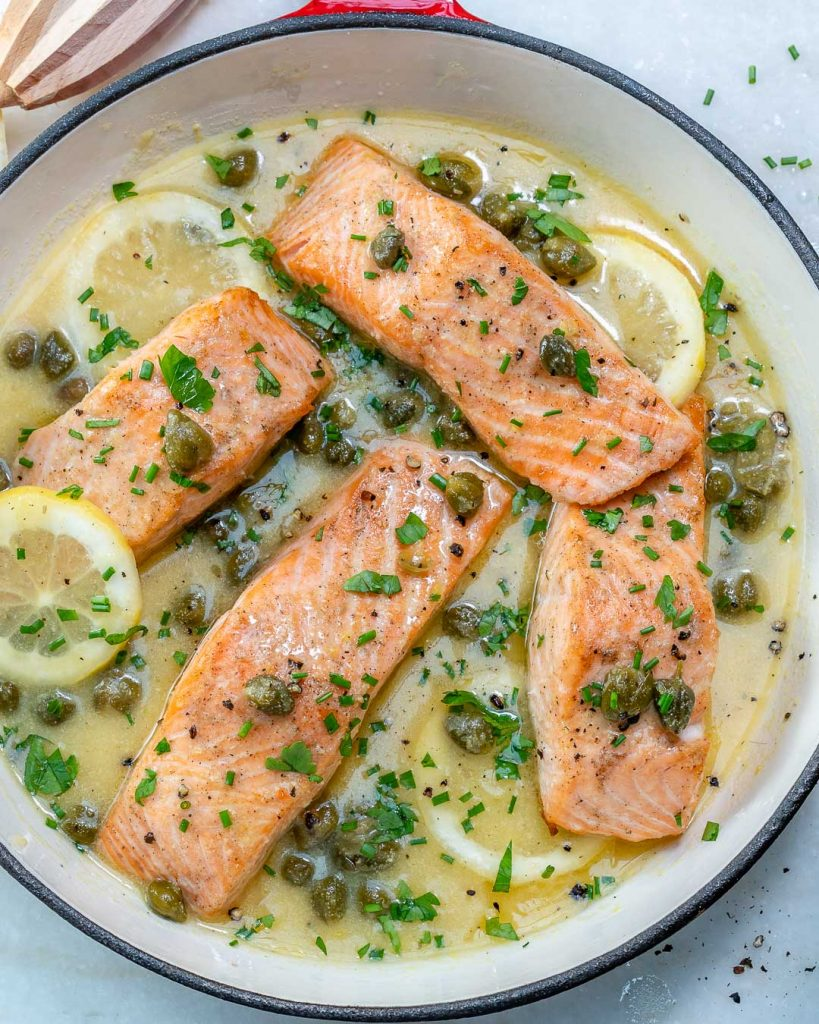 Simple Salmon Piccata