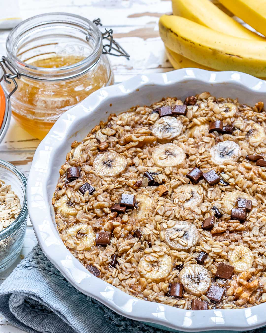 Try Our Chocolate Chip Banana Oatmeal Recipe!