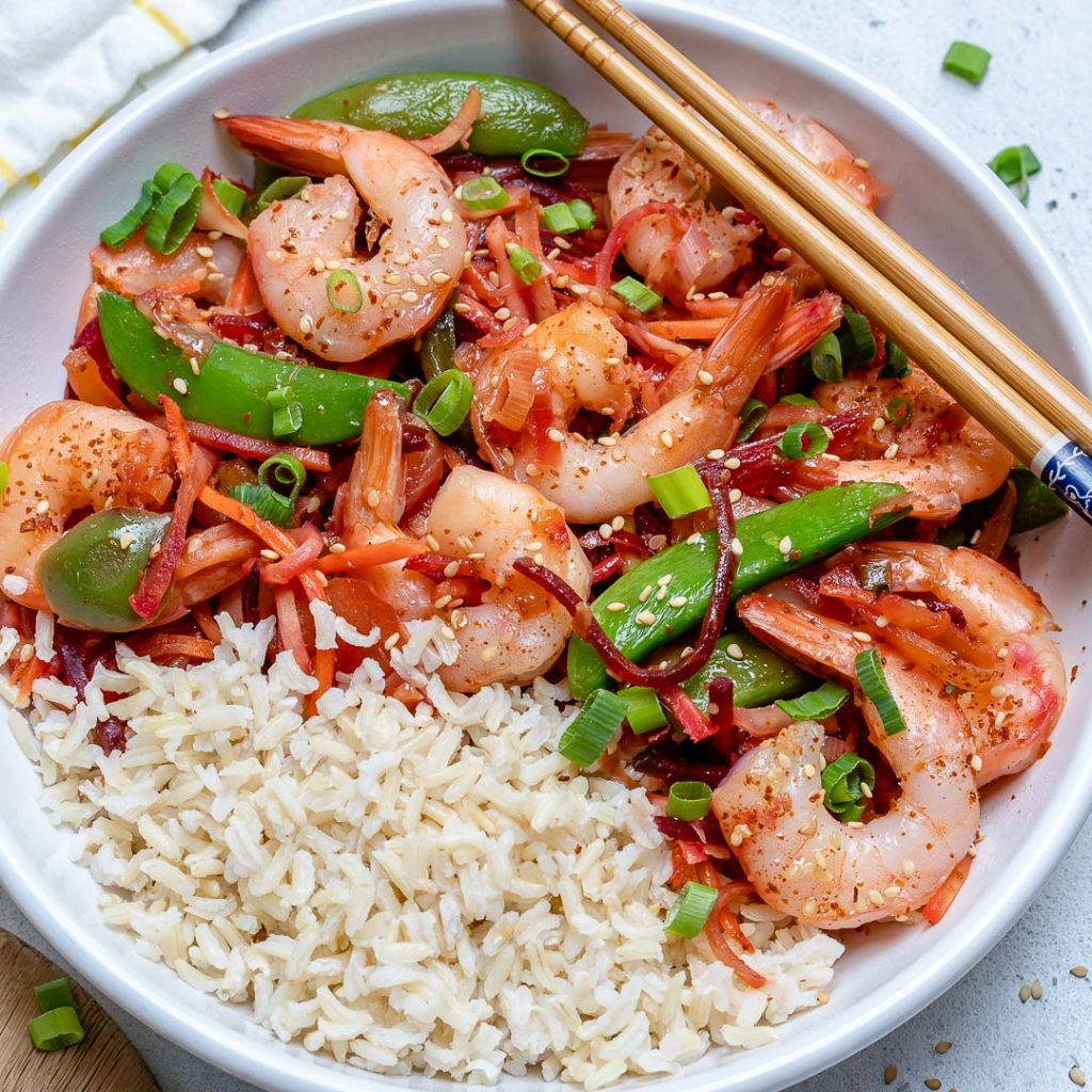 Chili Garlic Shrimp Stir-Fry
