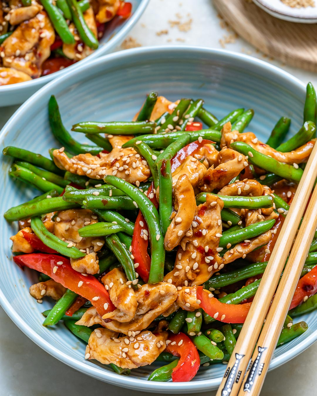 Make this Sesame Chicken Stir-fry on Busy Back to School Nights!