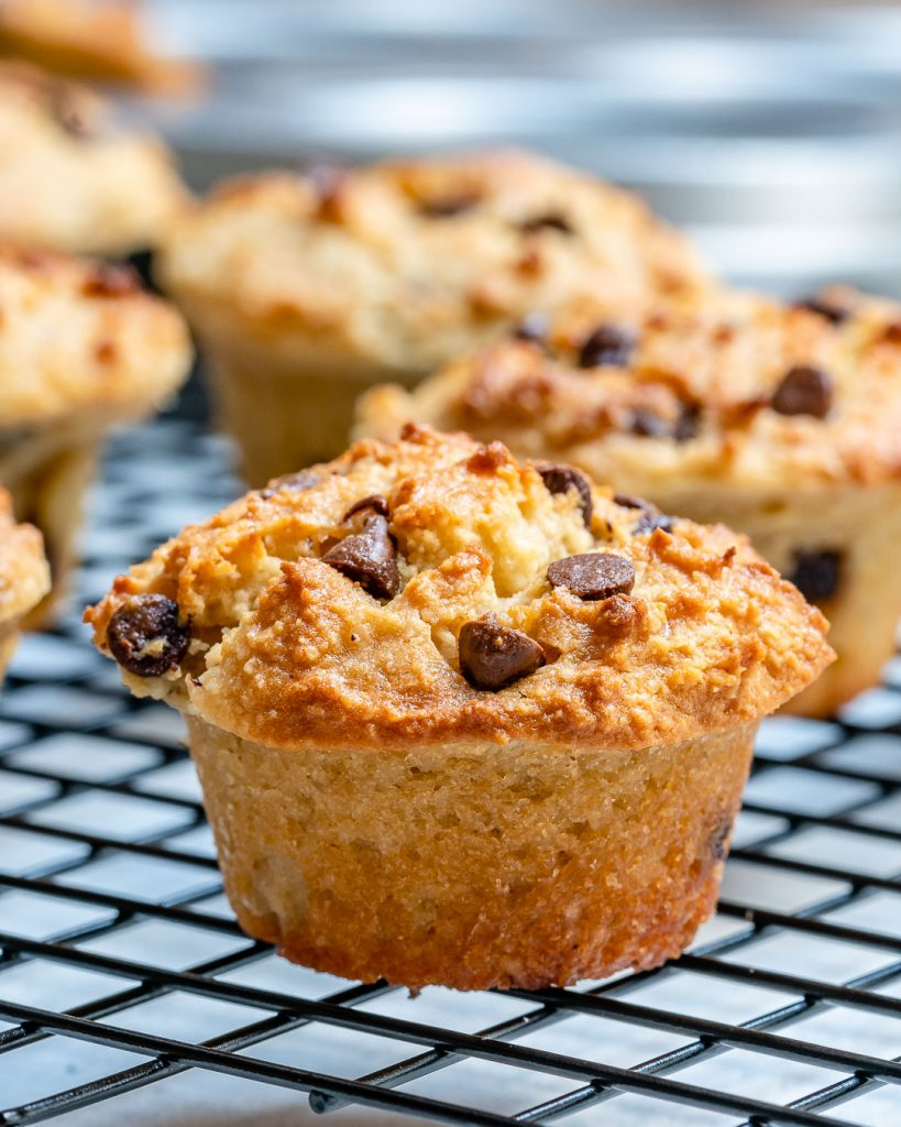 This Recipe for Gluten-Free Mini Chocolate Chip Muffins is a Winner!