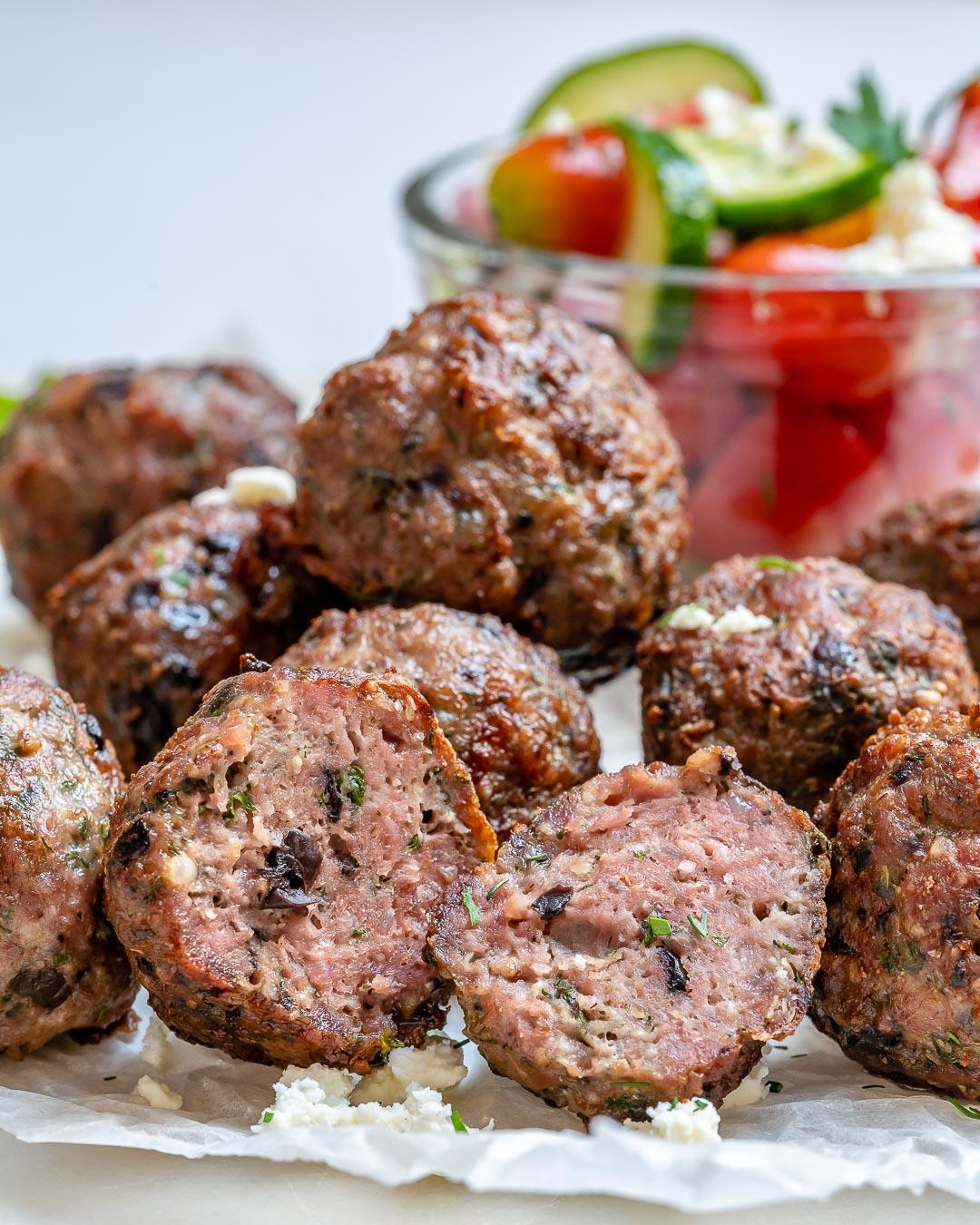 Mediterranean Beef Meatballs