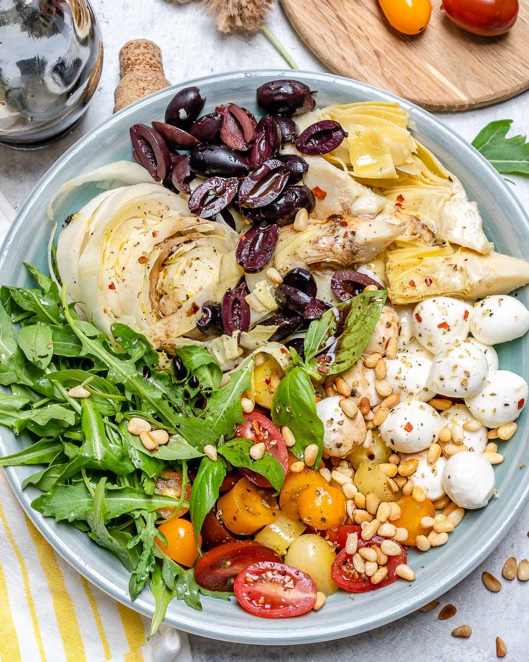 Mediterranean-Style Chopped Salad