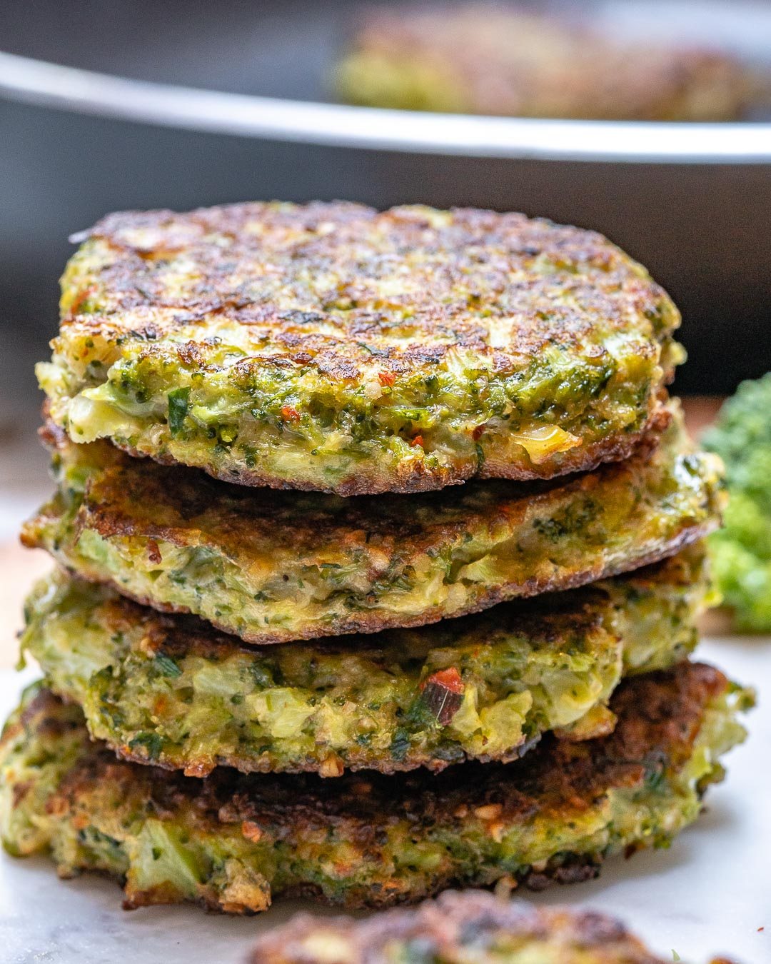 Kid Approved Broccoli Fritters