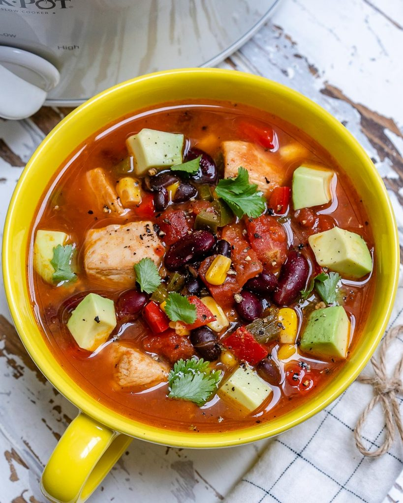 Mexican Fiesta Chicken Soup