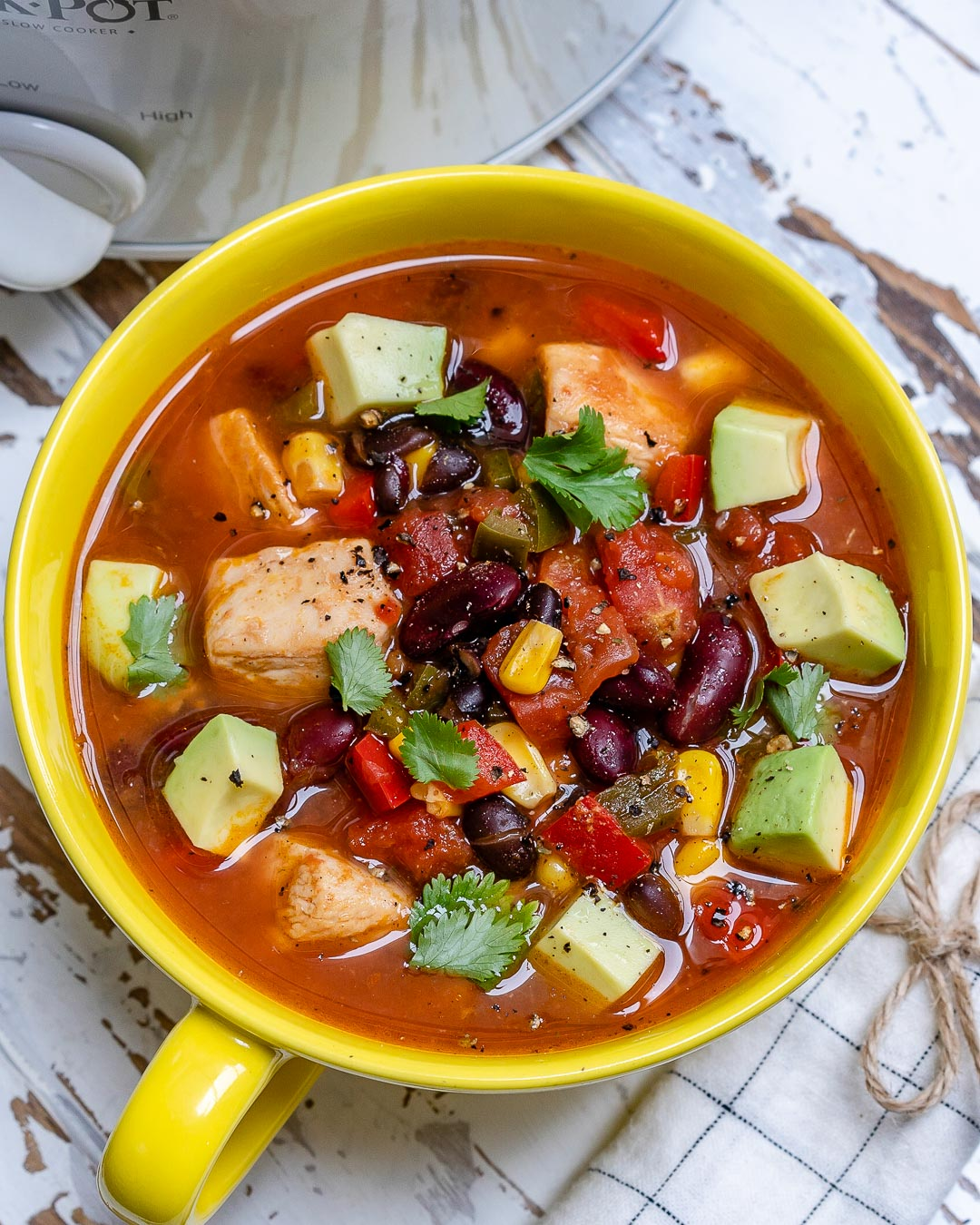 Mexican Fiesta Chicken Soup