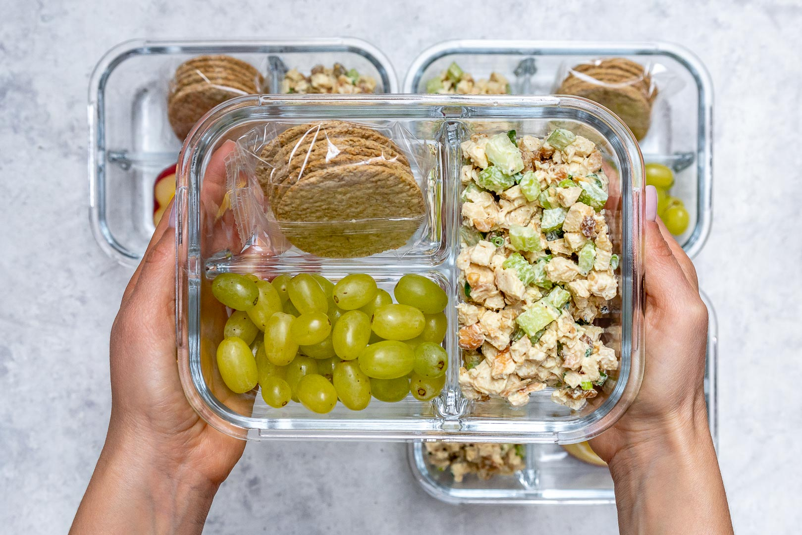 Chicken Salad Meal Prep