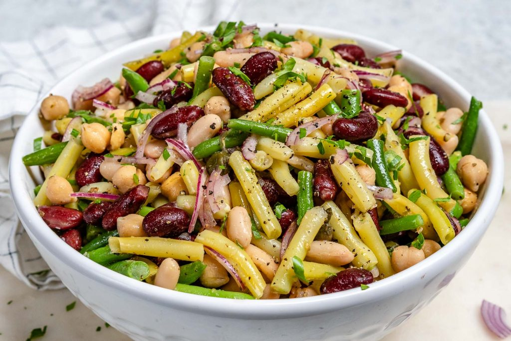 CFC's FAVORITE Homemade Five Bean Salad!
