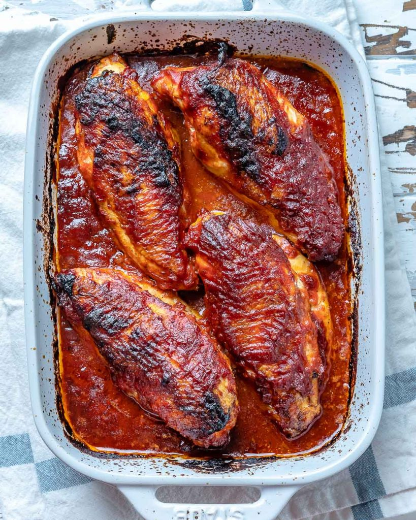 Easy and Clean Roasted BBQ Chicken for Happy Family Dinners!