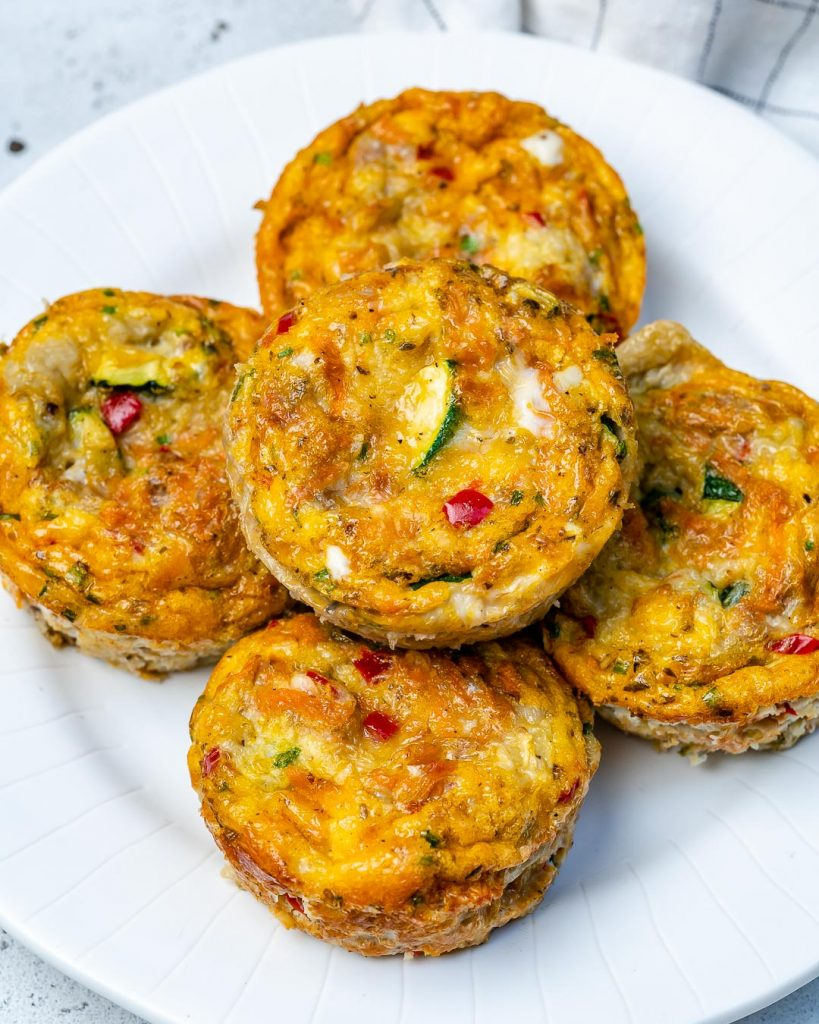 Veggie-Packed Frittata Egg Muffins for Cheery Mornings!
