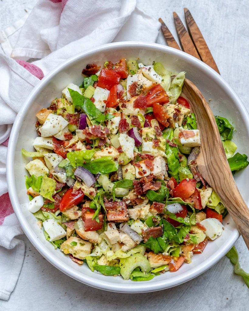 High Protein Chopped Salad