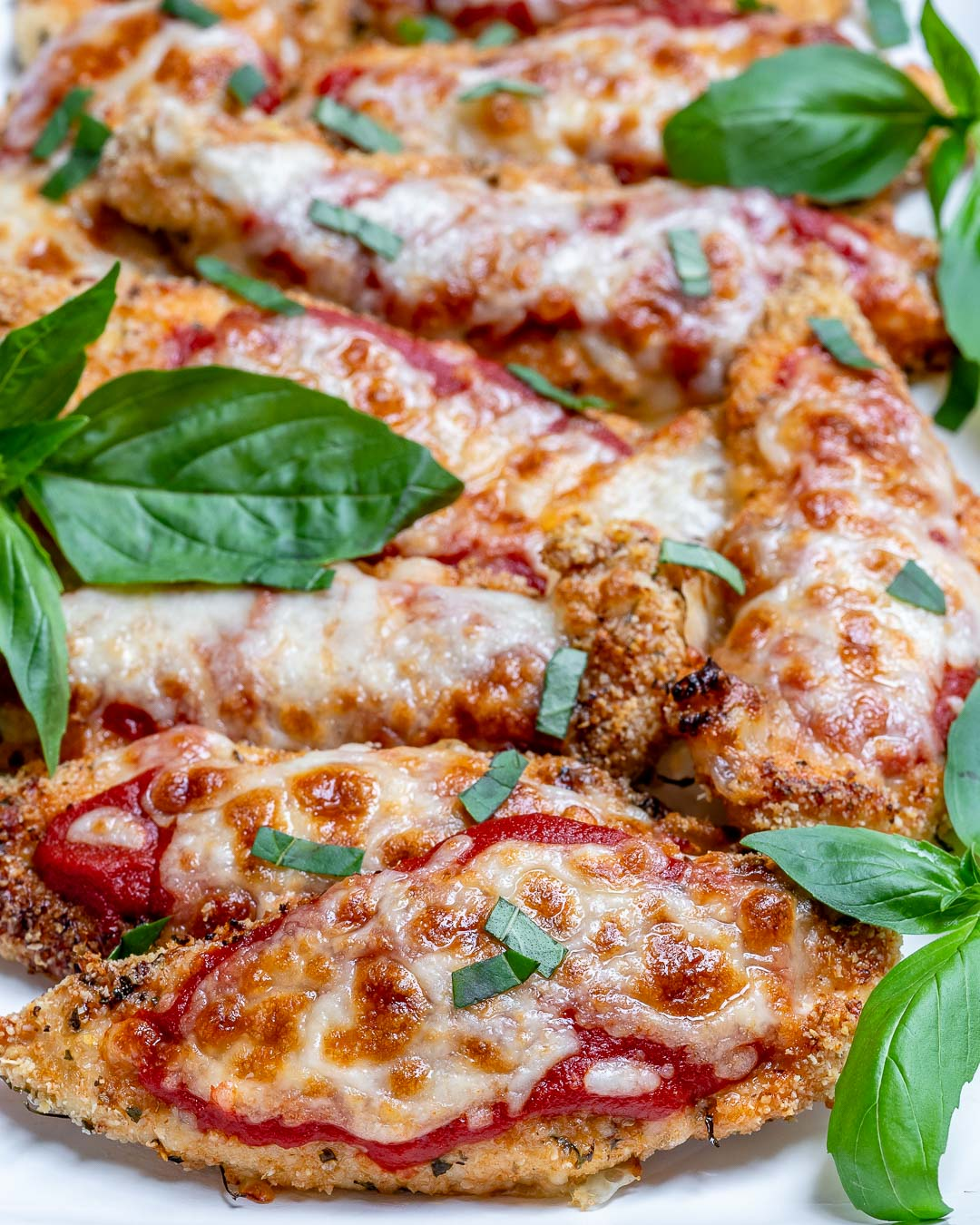 Healthy Baked Chicken Parmesan For Clean Eating Soul Food Clean Food Crush