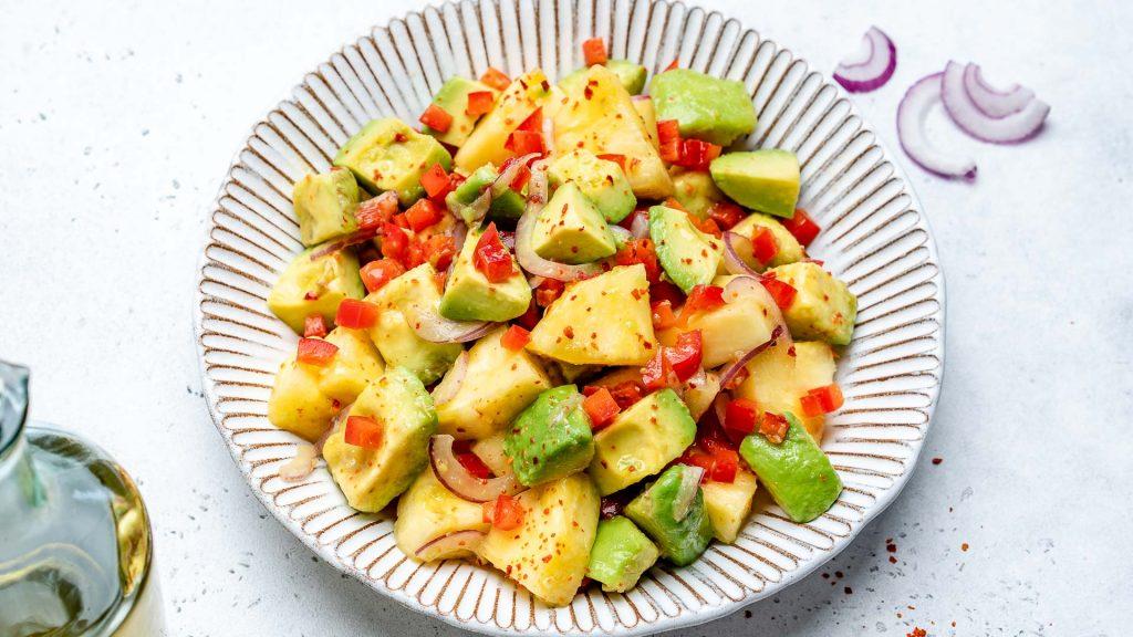 Pineapple + Avocado Salad