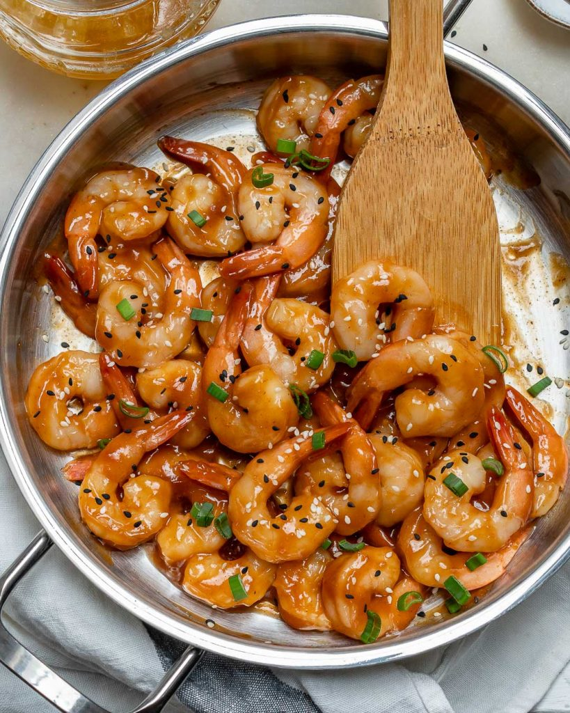 10 Minute Honey Garlic Shrimp