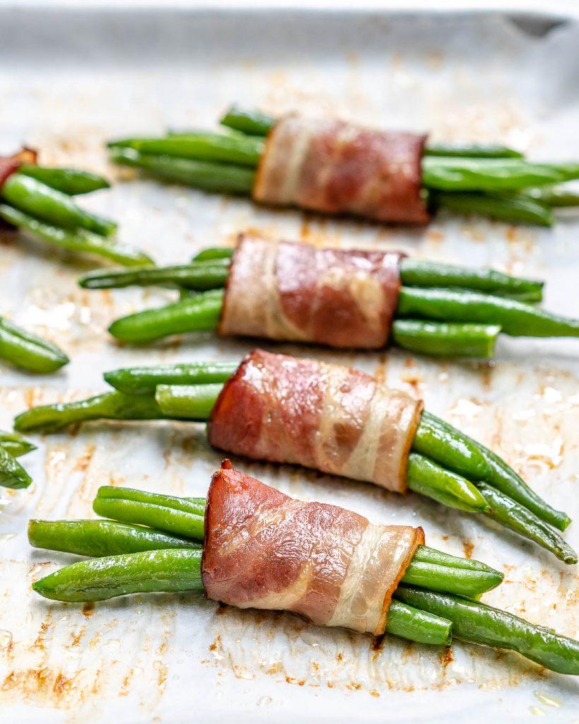 Green Bean + Bacon Bundles