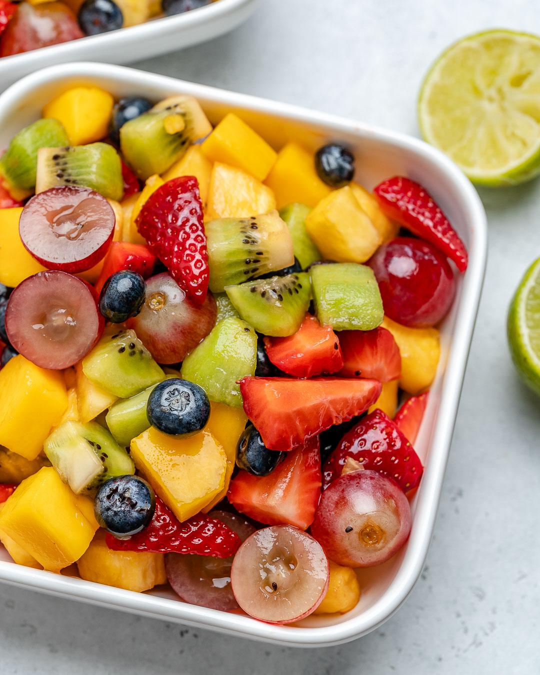 Quick Easy Fruit Salad Clean Food Crush
