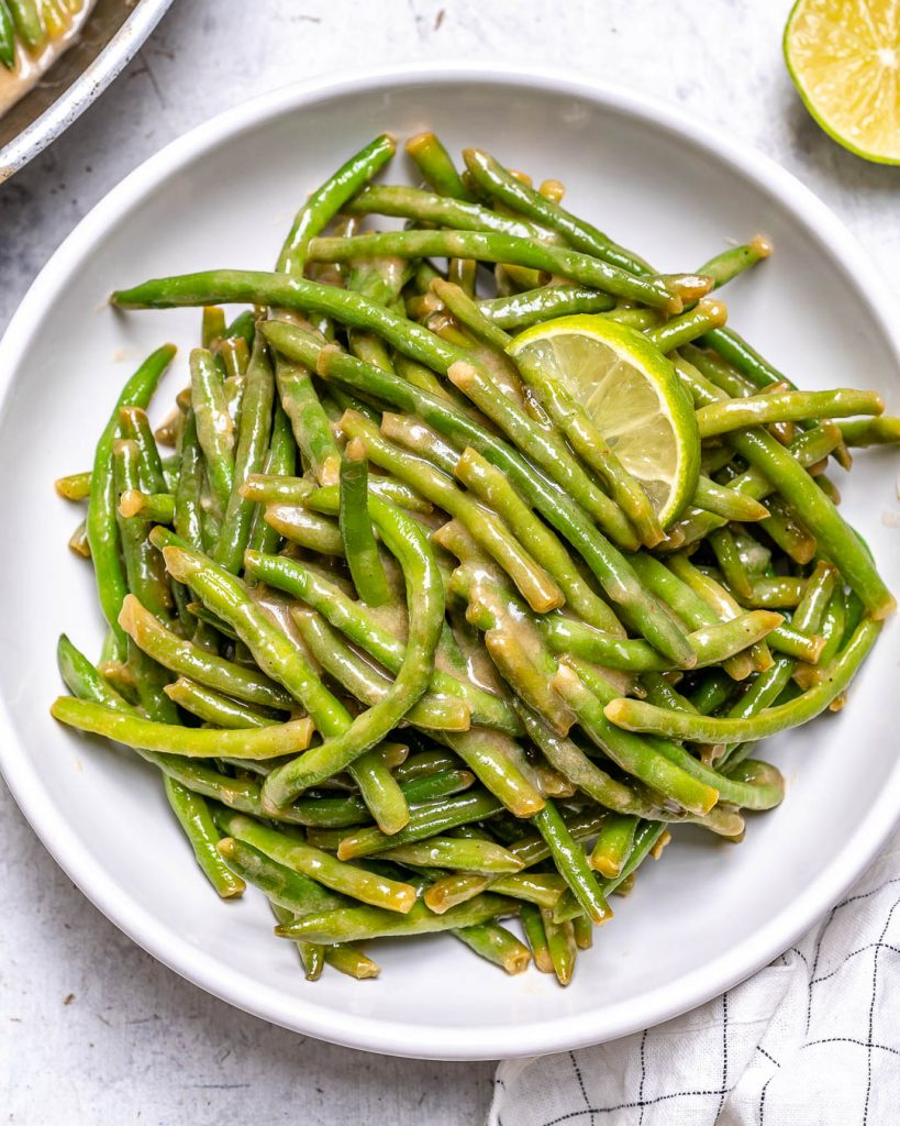 Creamy Braised Green Beans