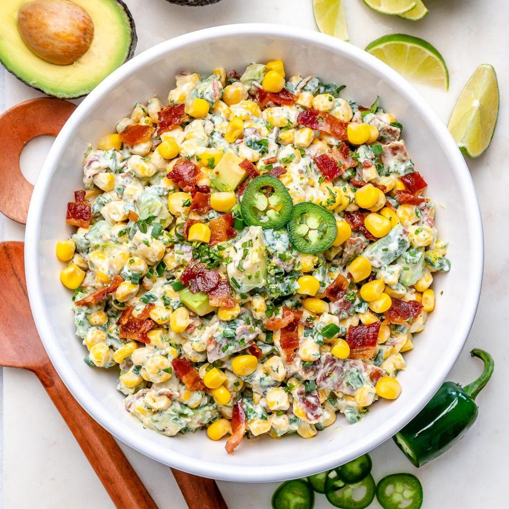 Creamy Avocado Corn Salad