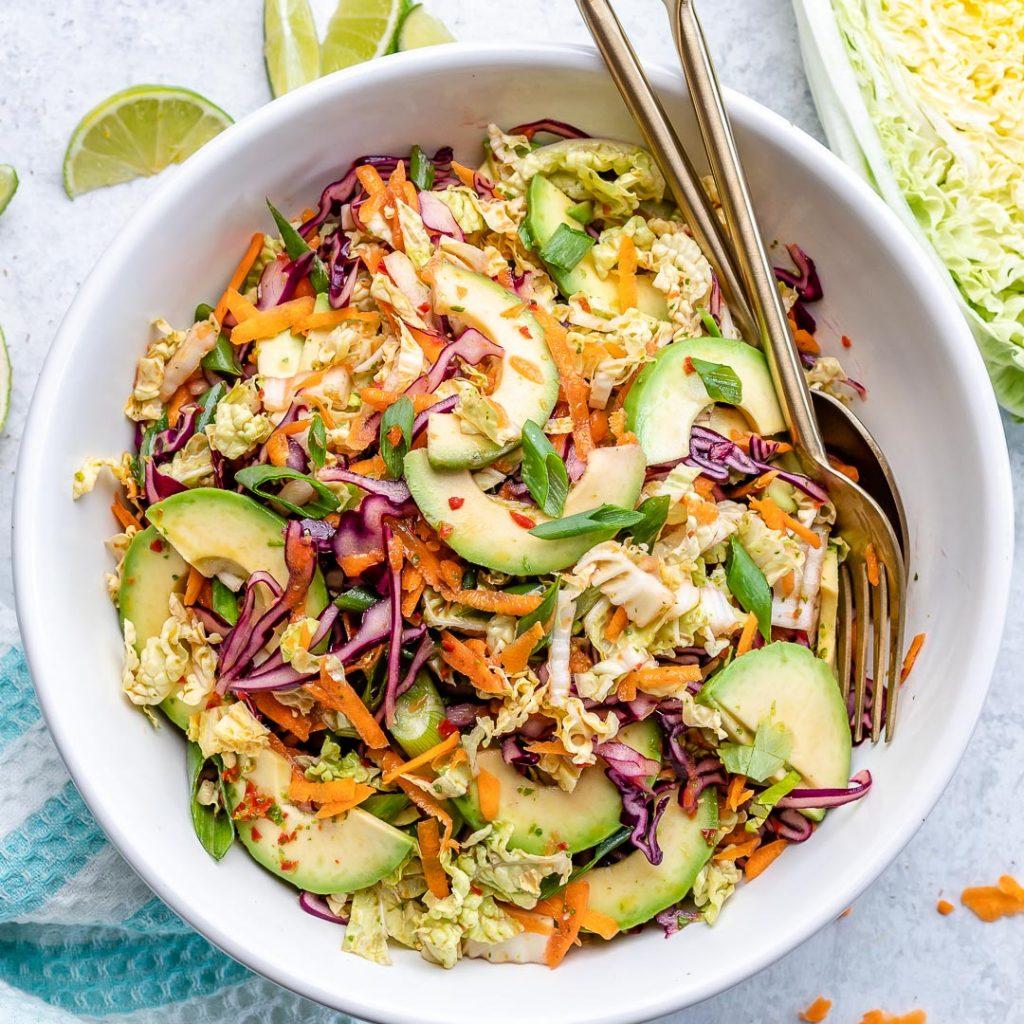 Thai Inspired Avocado Salad