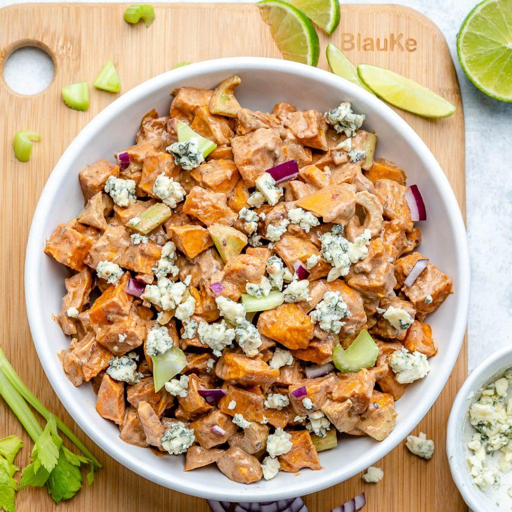 Chipotle Roasted Sweet Potato Salad