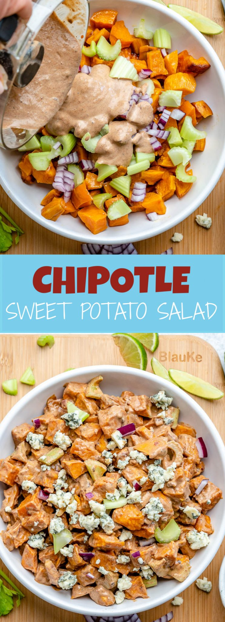 Chipotle Roasted Sweet Potato Salad Clean Food Crush