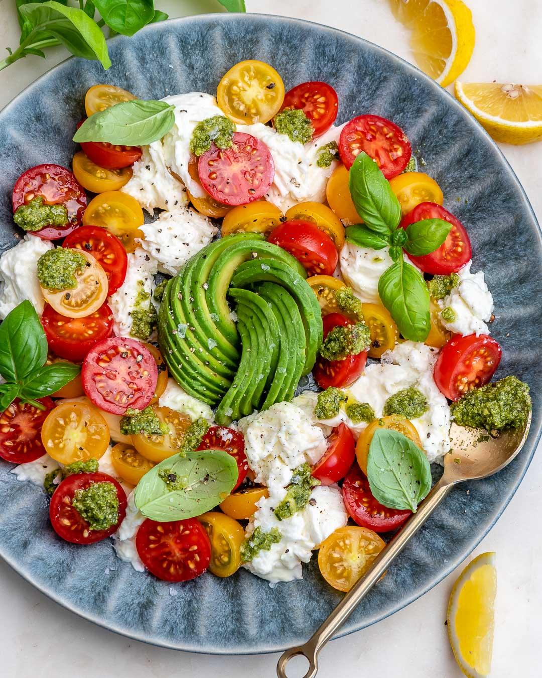 Caprese Avocado Salad Recipe