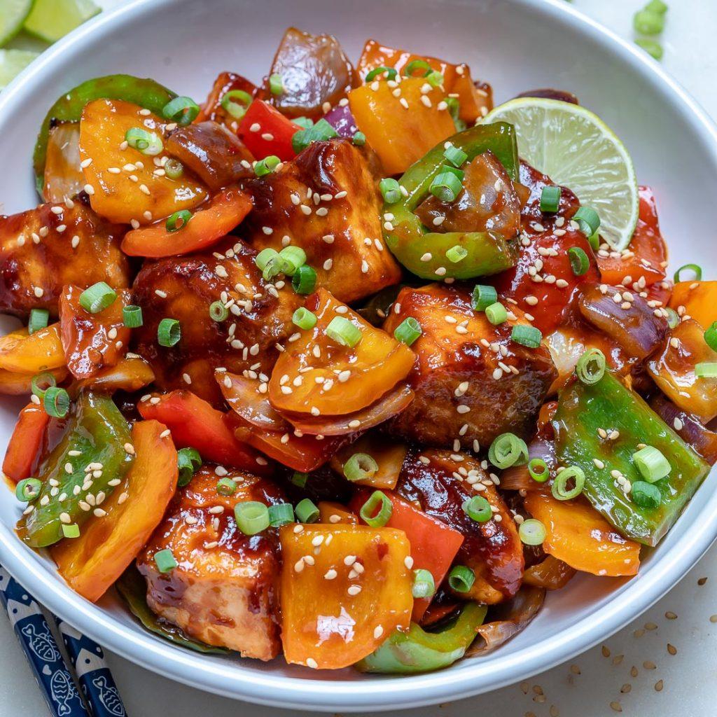 Teriyaki Salmon Stir-fry