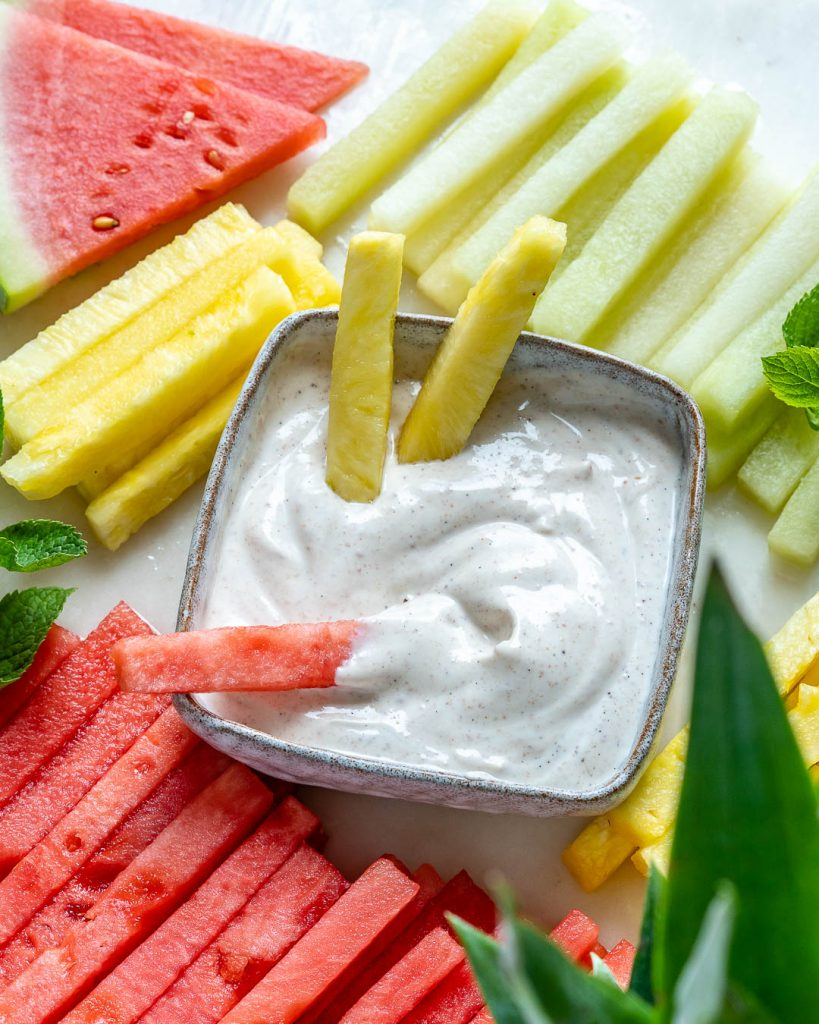 Fruit Fries + Yogurt Dip