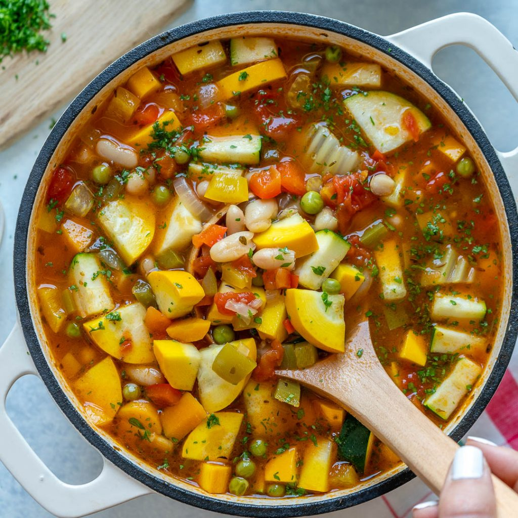 Nourishing CFC Minestrone Soup