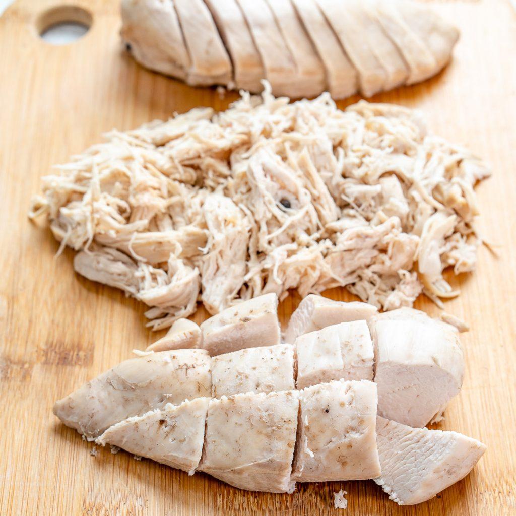 Garlic Herb Poached Chicken Breasts - Video Recipe